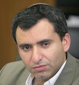 Deputy Foreign Minister Ze'ev Elkin. Credit: Wikimedia Commons.