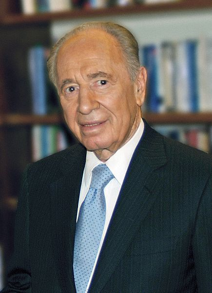 Israeli President Shimon Peres. Credit:David Shankbone via Wikimedia Commons.