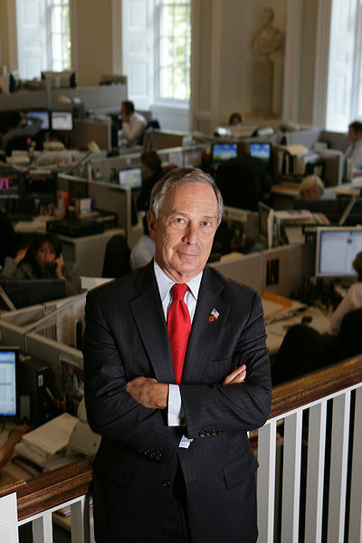 "New York Mayor Michael Bloomberg was awarded the $1 million Genesis Prize, an award popularly known as the ""Jewish Nobel Prize."" Credit: Wikimedia Commons."