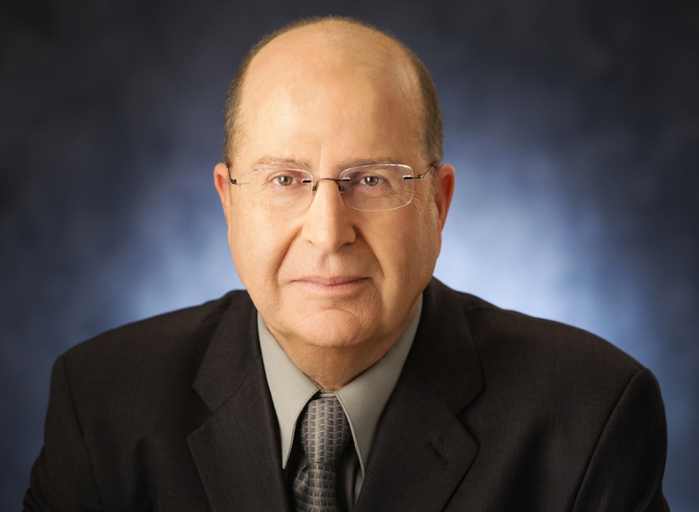 "Israeli Defense Minister Moshe Ya'alon, pictured, warned against the Iran nuclear program ""charm offensive."" Credit: Reuven Kapuscinski."