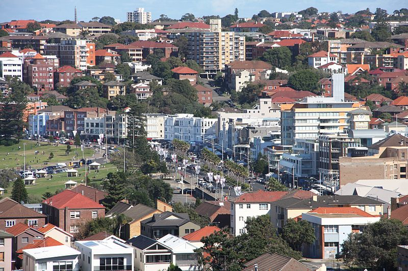 A Jewish family and a Jewish National Fund (JNF) representative were attacked in Bondi Beach near Sydney, Australia Saturday. Credit: Wikimedia Commons.