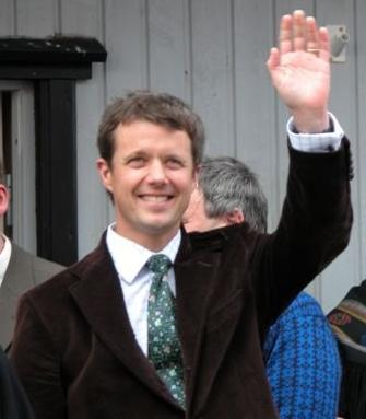 Danish Crown Prince Frederik. Credit: Wikimedia Commons.