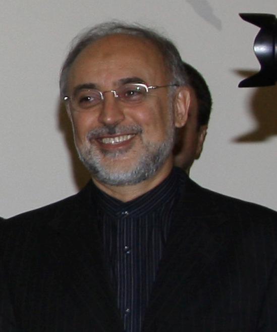 Iran's chief nuclear negotiator Ali Akbar Salehi Credit: Wikimedia Commons.