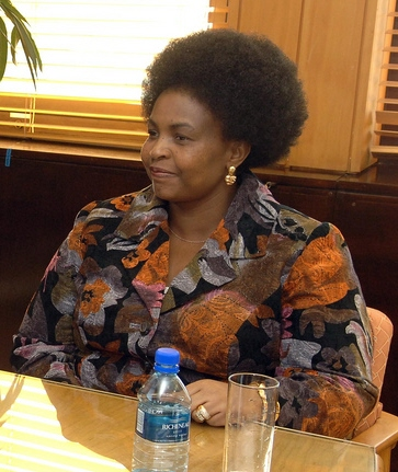 South African Foreign Minister Maite Nkoana-Mashabane. Credit: State Department.