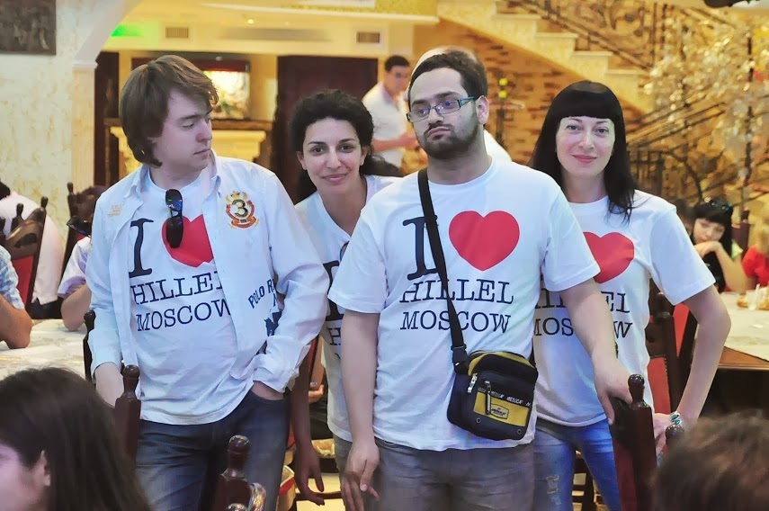 Click photo to download. Caption: Students who are part of Hillel in Moscow. Credit: Hillel: The Foundation for Jewish Campus Life.