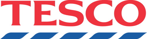 The logo of the U.K.-based Tesco supermarket chain, where Irish groups placed pro-BDS labels on Israeli-made products. Credit: Tesco.