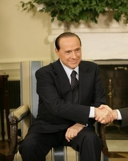 Silvio Berlusconi, former prime minister of Italy. Credit: Wikimedia Commons.