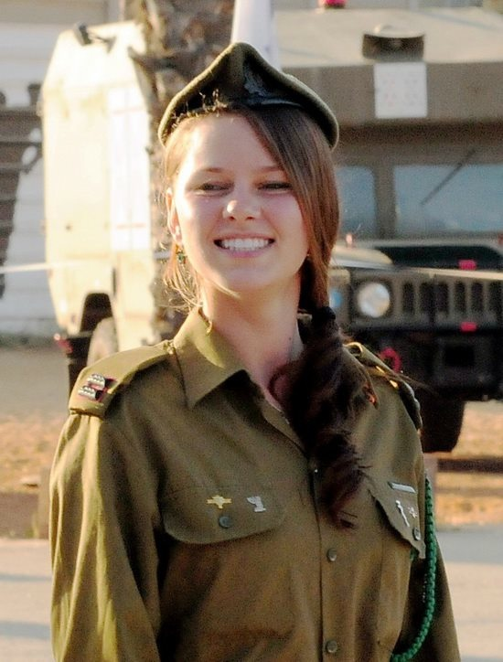 Click photo to download. Caption: Anastasia Bagdalov, a trainer of IDF paramedics. Credit: Courtesy Anastasia Bagdalov.