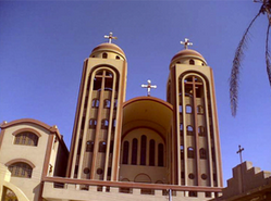 The Abu Hur Coptic Christian church in Minya, where kidnappings of Christian are reportedly on the rise. Credit: Wikimedia Commons.