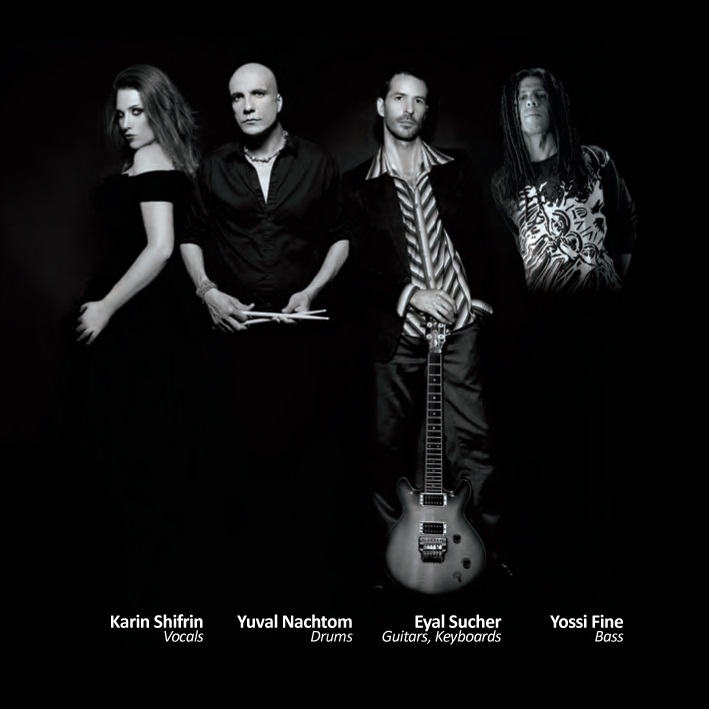 Click photo to download. Caption: From left to right, members of Diva de Lai: Karin Shifrin, Yuval Nachtom, Eyal Sucher, and Yossi Fine. Credit: Diva de Lai.