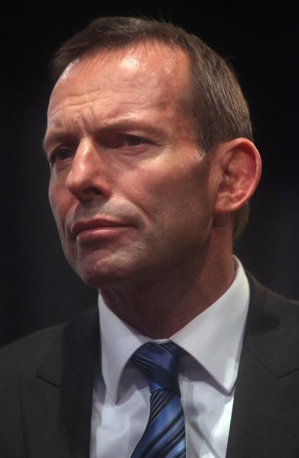 Australian Prime Minister Tony Abbott. Credit: MystifyMe Concert Photography (Troy) via Wikimedia Commons.