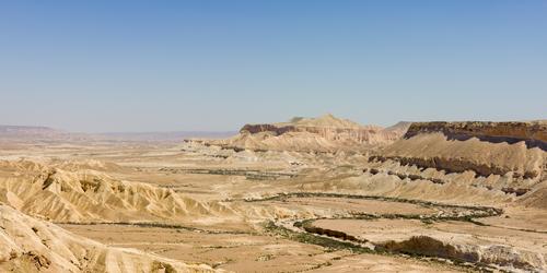 The Negev Desert. Credit: Godot13 via Wikimedia Commons.