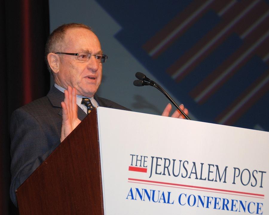 Alan Dershowitz. Credit: Maxine Dovere.