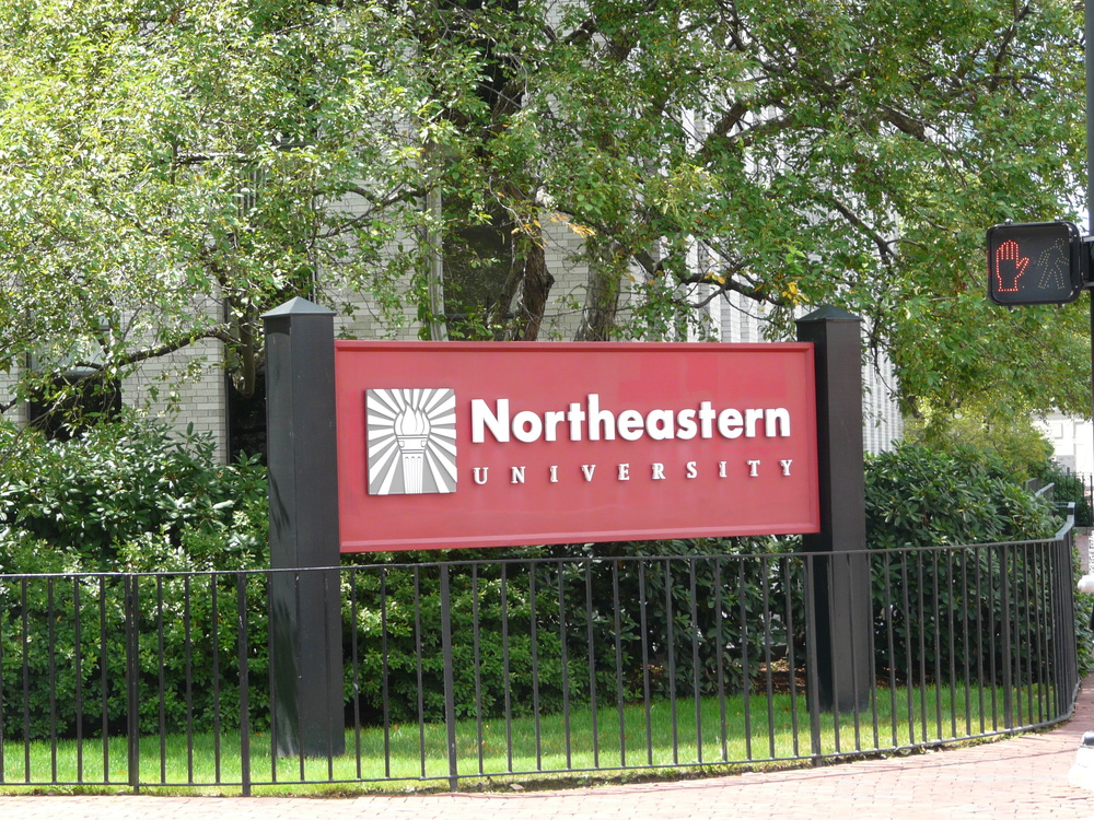 Northeastern University. Credit: Piotrus via Wikimedia Commons.