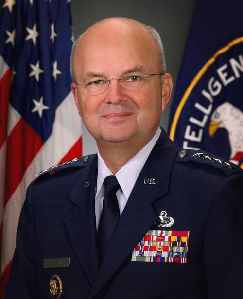 Former CIA and NSA chief Gen. Michael Hayden. Credit: CIA.
