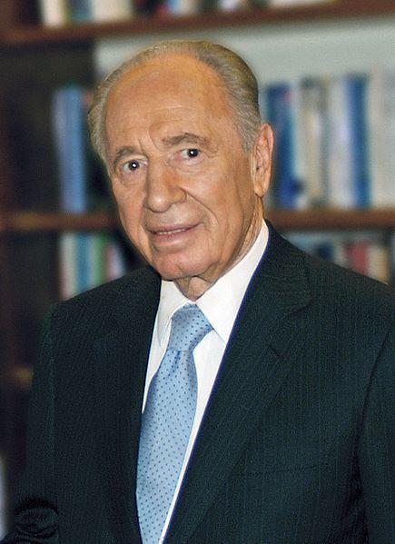 Israeli President Shimon Peres. Credit: Wikimedia Commons.