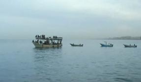 "Footage from Monday's ""reverse"" Gaza flotilla. Credit: Israel Hayom video screenshot."