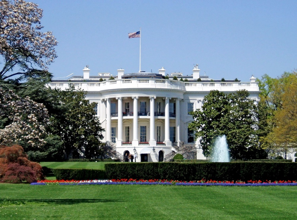 The White House. Credit: Wikimedia Commons.