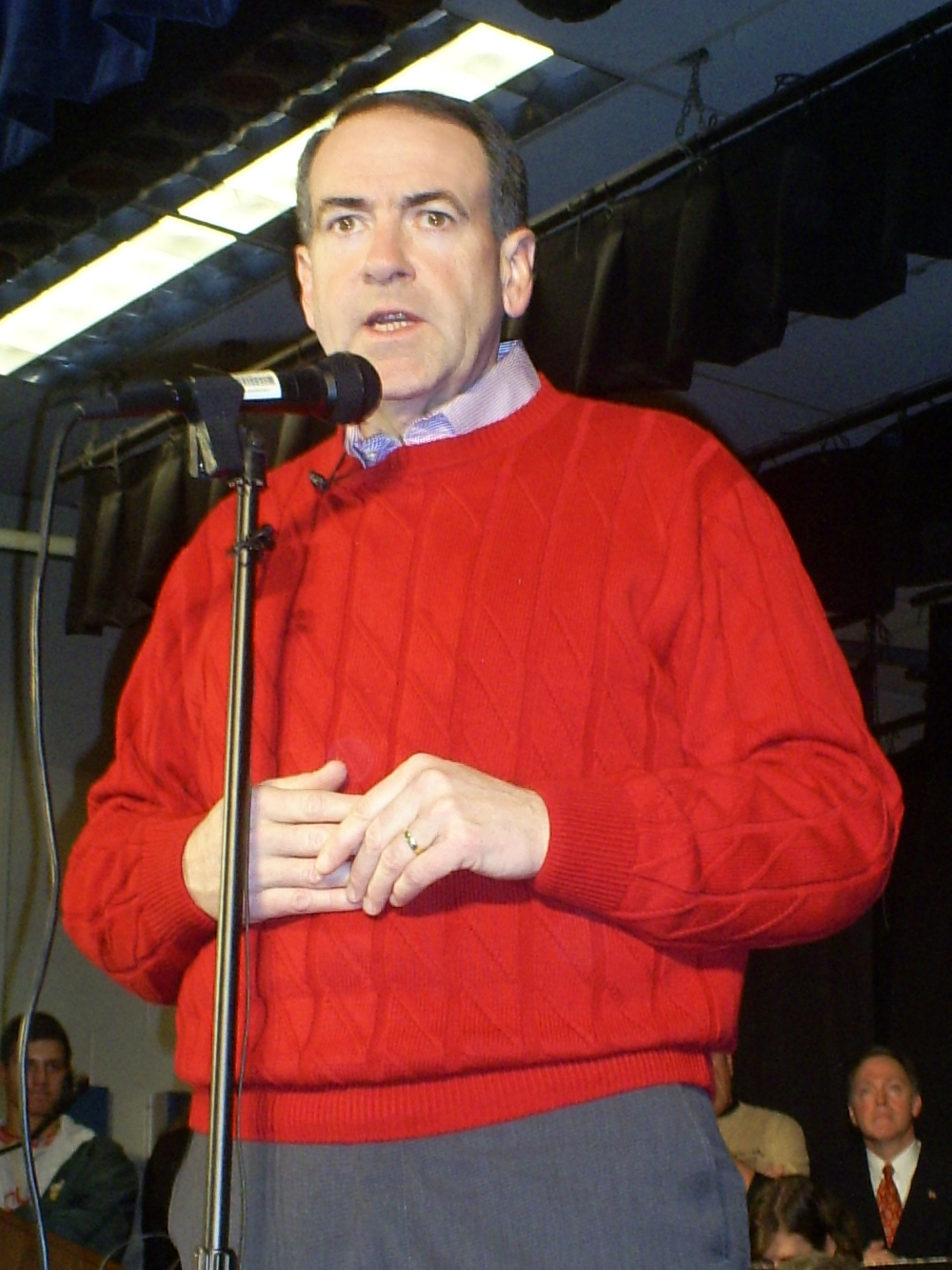 Mike Huckabee. Credit:  Craig Michaud via Wikimedia Commons.