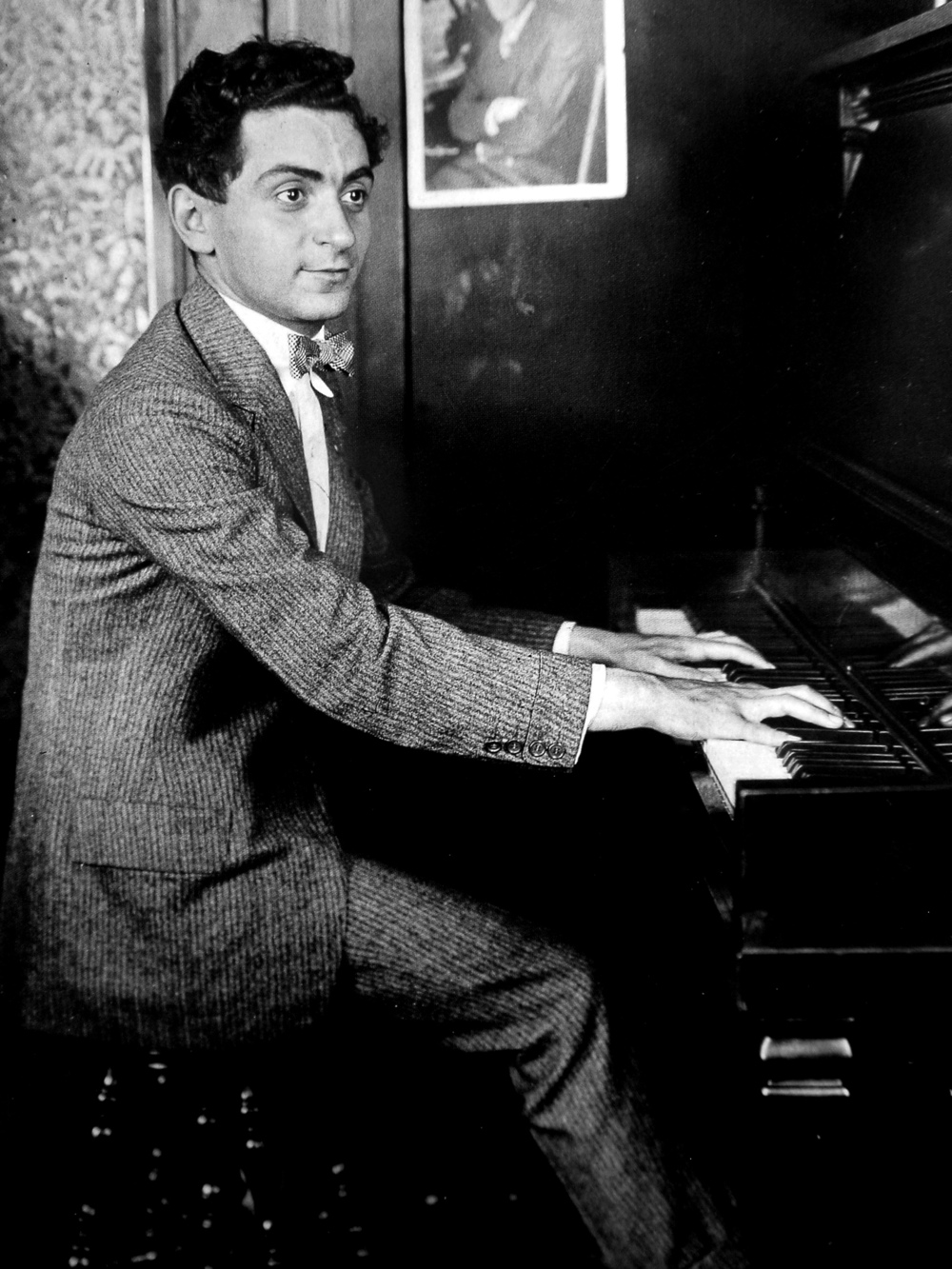 Click photo to download. Caption: A publicity photo of Irving Berlin taken in 1906. Credit: Life magazine images via Wikimedia Commons.