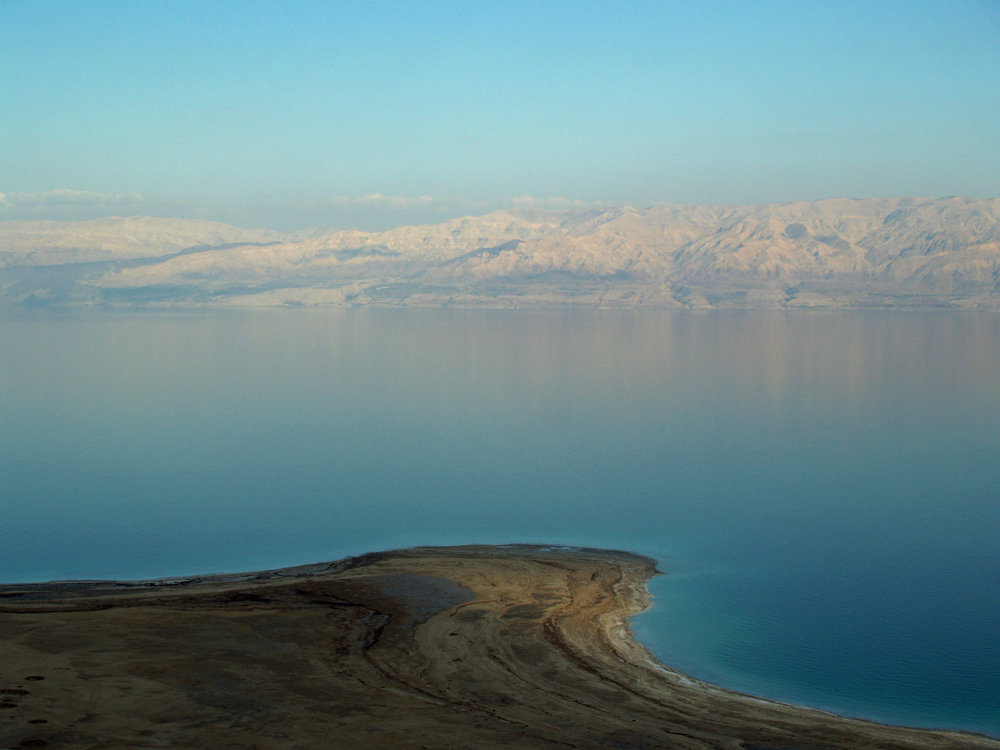The Dead Sea. Credit: David Shankbone via Wikimedia Commons.