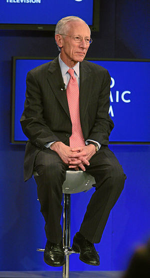 Former Bank of Israel Governor Stanley Fischer. Credit: World Economic Forum via Wikimedia Commons.