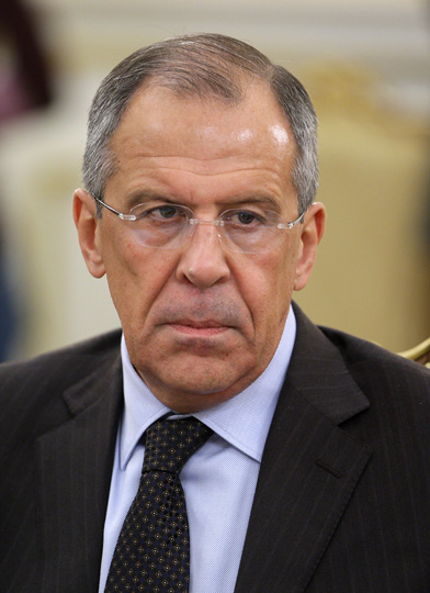 Russian Foreign Minister Sergey Lavrov, pictured, on Wednesday held a rare phone conversation with Hamas. Credit: Wikimedia Commons.