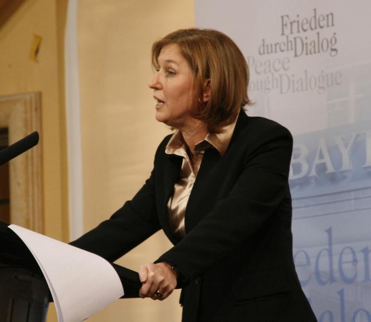 Tzipi Livni. Credit: Antje Wildgrube/Wikimedia Commons.