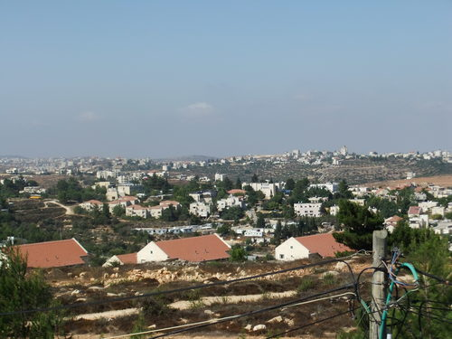 Caption: The Jewish community of Beit El in Judea and Samaria. Credit: Yaakov via Wikimedia Commons.