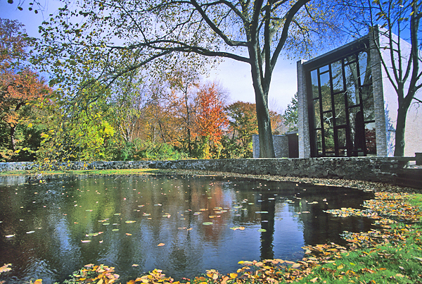 The Brandeis University campus. Brandeis announced it has quit the American Studies Association following the association's boycott of Israel. Credit: Wikimedia Commons.