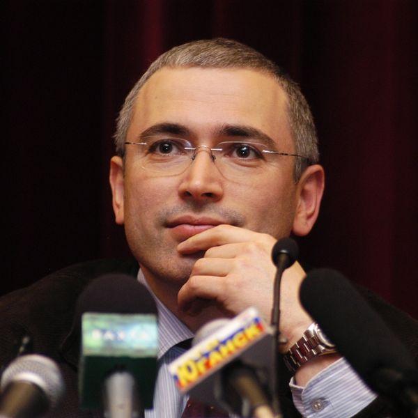 Mikhail Khodorkovsky. Credit: Wikimedia Commons.