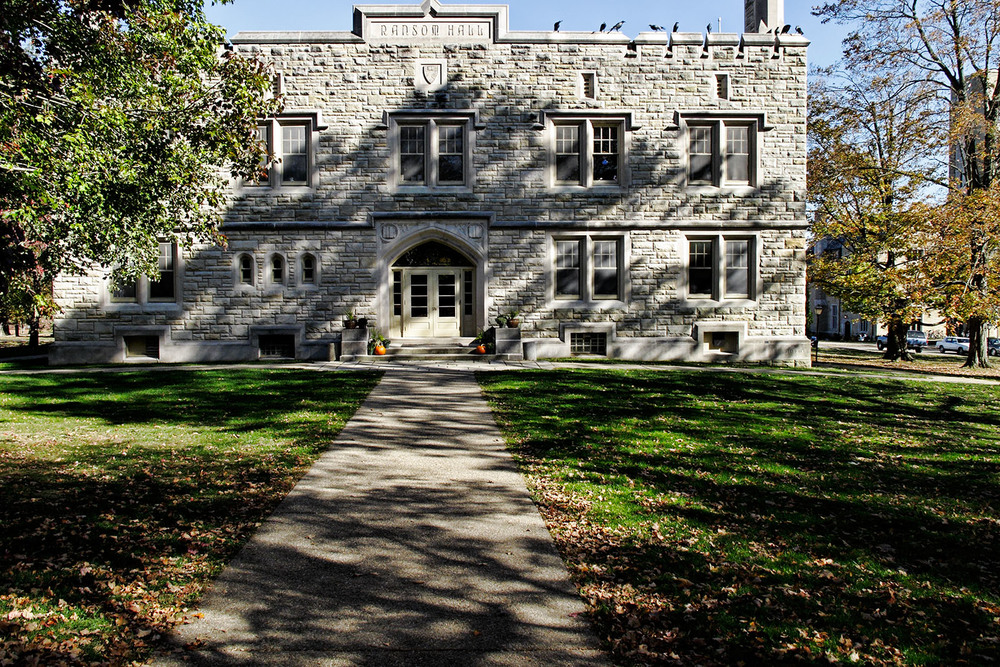 Ransom Hall at Kenyon College, a school that has left the American Studies Association (ASA) over the ASA's boycott of Israel. Credit: Wikimedia Commons.