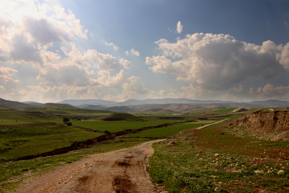 The Jordan Valley. Credit: Navot Miller via Wikimedia Commons.