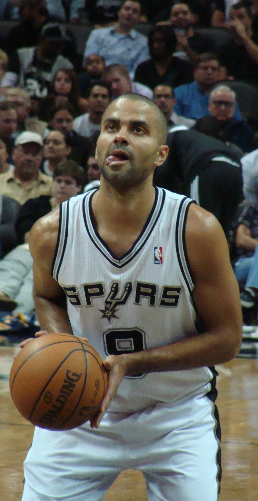 NBA star Tony Parker. Credit: Wikimedia Commons.
