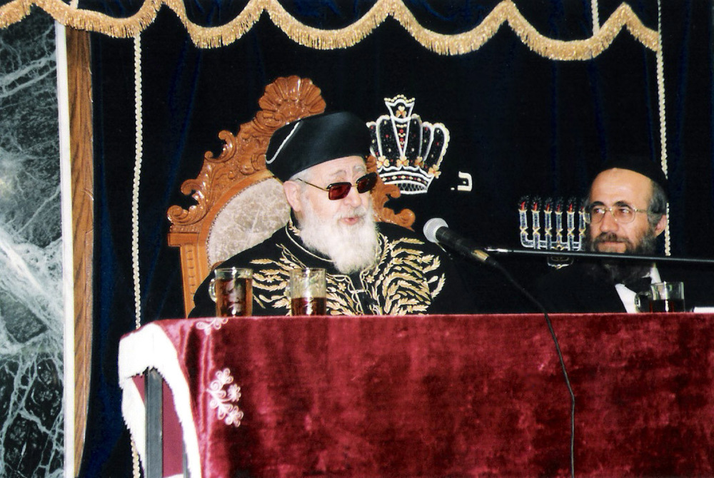 Rabbi Ovadia Yosef. Credit: Wikimedia Commons.