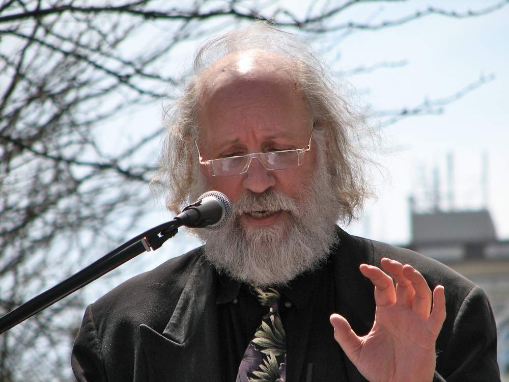 Click photo to download. Caption: Pictured is Cary Nelson, an Modern Language Association (MLA) member and University of Illinois professor who spoke on a panel across the street from the MLA convention on academic freedom in Israel. The panel was arranged as an alternative to an MLA convention session that included supporters but no opponents of the BDS movement against Israel. Credit: Sage Ross via Wikimedia Commons.