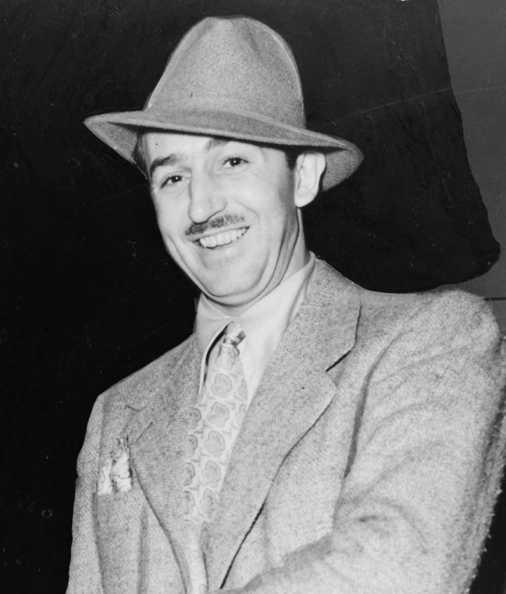 Click photo to download. Caption: Walt Disney. Credit: New York World-Telegram and the Sun staff photographer Alan Fisher.