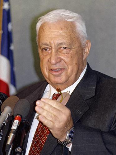 Ariel Sharon. Credit: Jim Wallace.