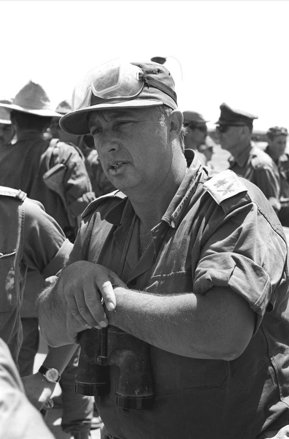 Click photo to download. Caption: An IDF Archive photo of Ariel Sharon. Credit: Courtesy of IDF Archive/Flash90.
