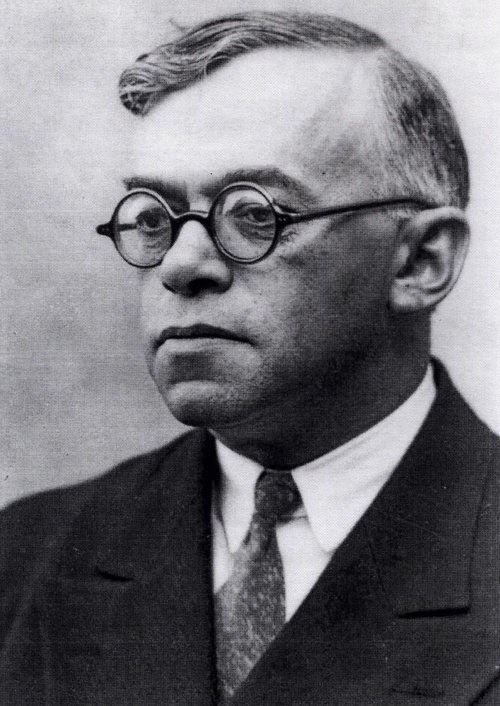 Click photo to download. Caption: Ze'ev Jabotinsky. Credit: The David S. Wyman Institute for Holocaust Studies.