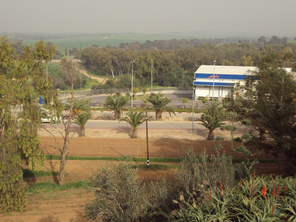 Click photo to download. Caption: Kibbutz Dorot, situated eight kilometers (about five miles) east of Sderot in southern Israel. Credit: Jeffrey F. Barken.