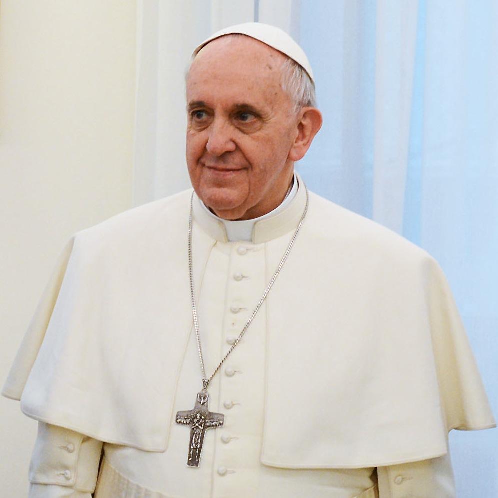 Pope Francis. Casa Rosada via Wikimedia Commons.