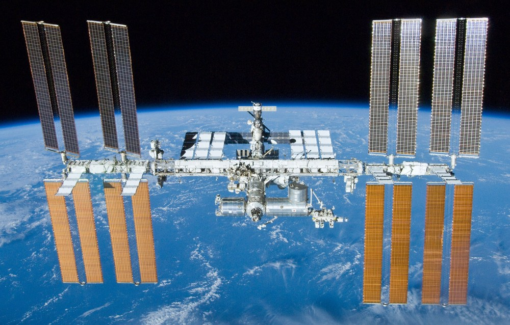 The International Space Station. Credit: NASA/Crew of STS-132.