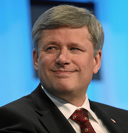Canadian Prime Minister Stephen Harper. Credit: World Economic Forum - Remy Steinegger.