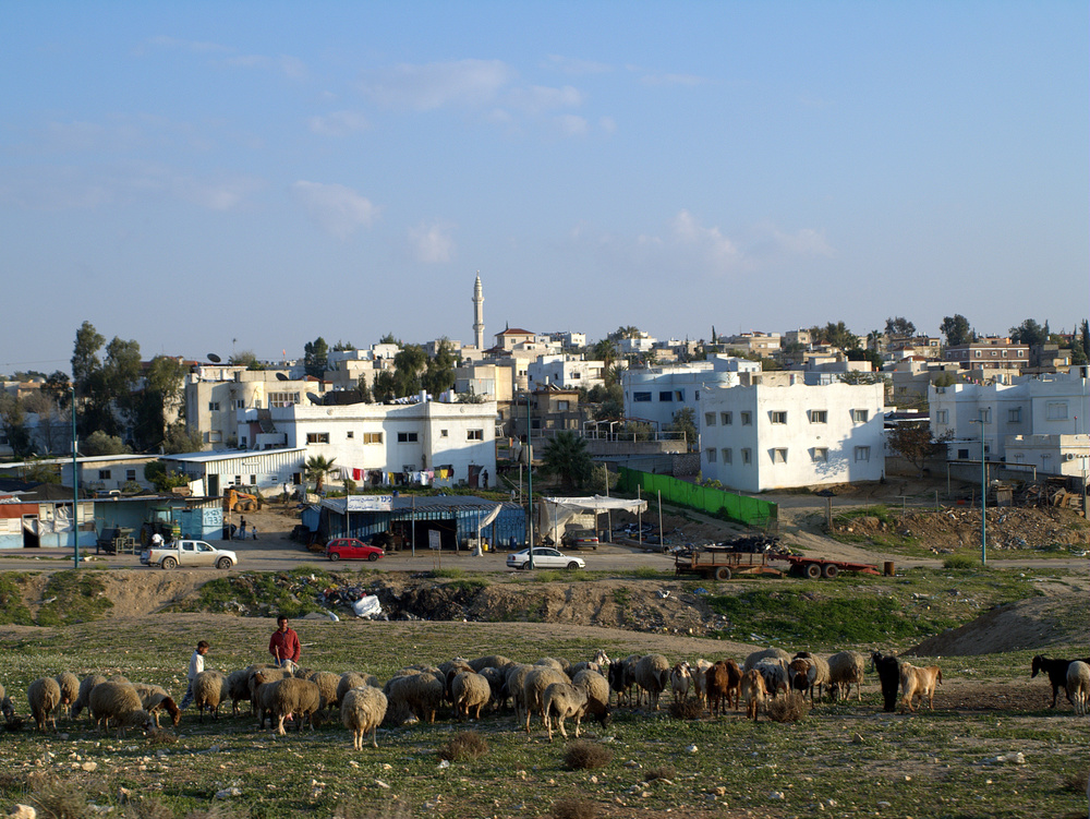 Click photo to download. Caption: Rahat, the largest Bedouin city in Israel. Credit: David Shankbone.