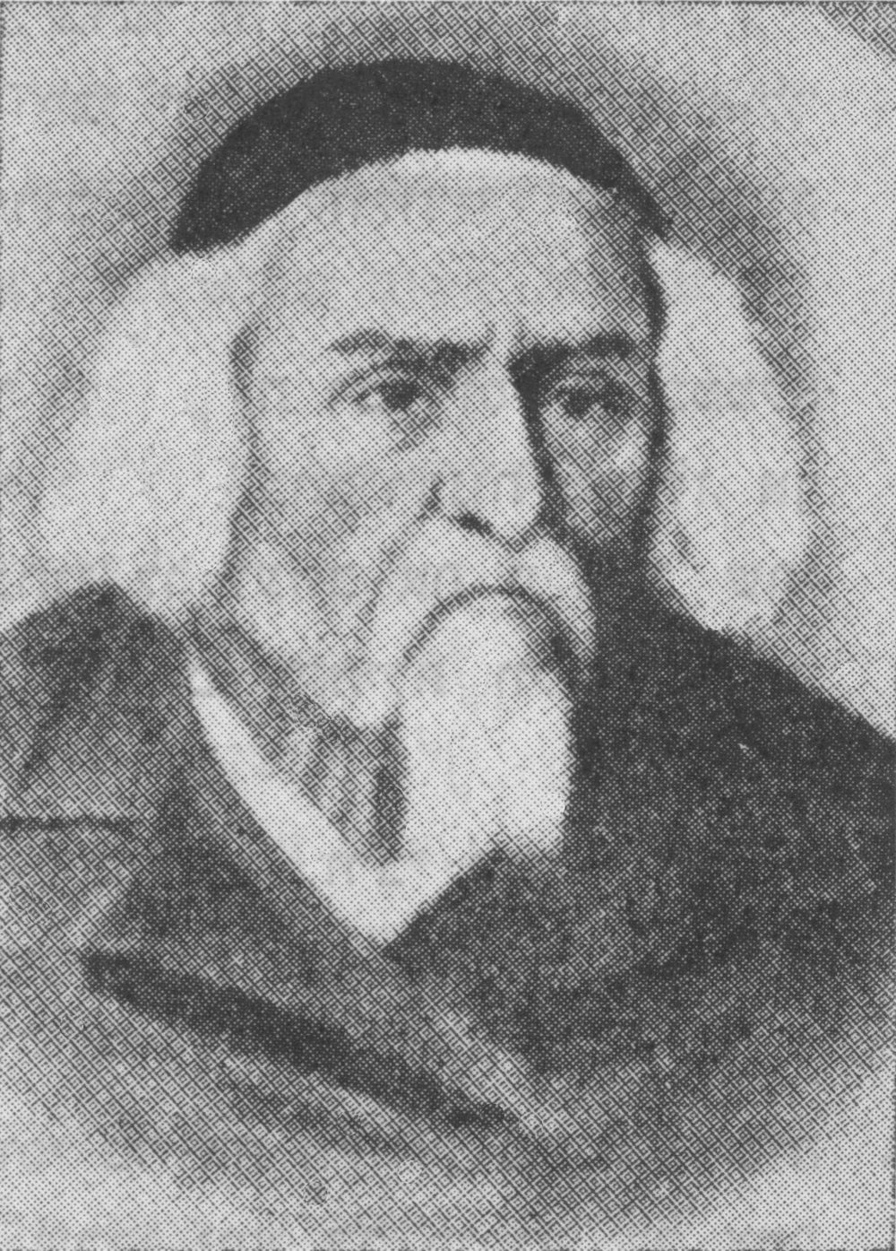 "Click photo to download. Caption: Pictured is the ""Beis Halevi,"" Rabbi Yosef Soloveitchik (1820-1892), who is featured in Rabbi Hillel Goldberg's new book ""The Unexpected Road."" Credit: Wikimedia Commons."