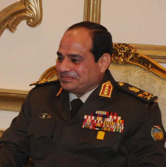 Egypt's General Abdel-Fattah el-Sissi. Credit: State Department.
