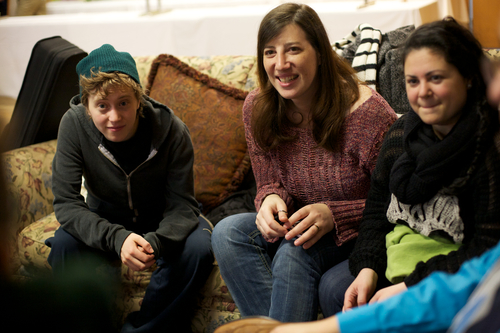 Click photo to download. Caption: Attendees of last year's Eshel parent<br />conference engage in a discussion about the challenges of coming out to<br />their Orthodox Jewish communities about their LGBT children. Credit:<br />Provided photo.