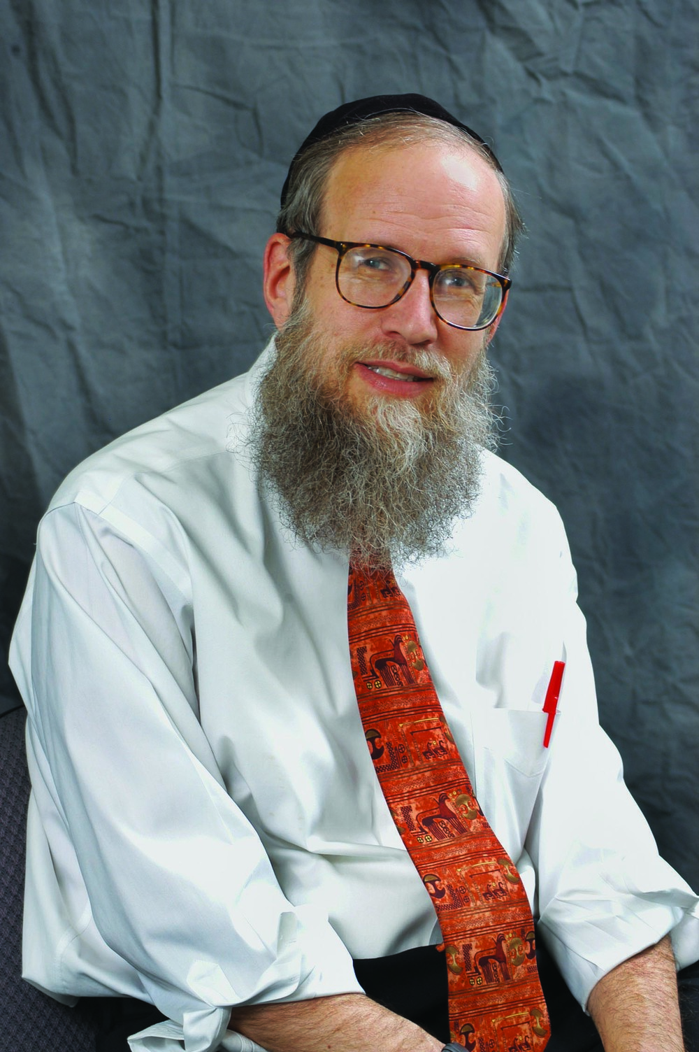 "Click photo to download. Caption: Rabbi Hillel Goldberg, author of ""The Unexpected Road."" Credit: Courtesy Rabbi Hillel Goldberg."