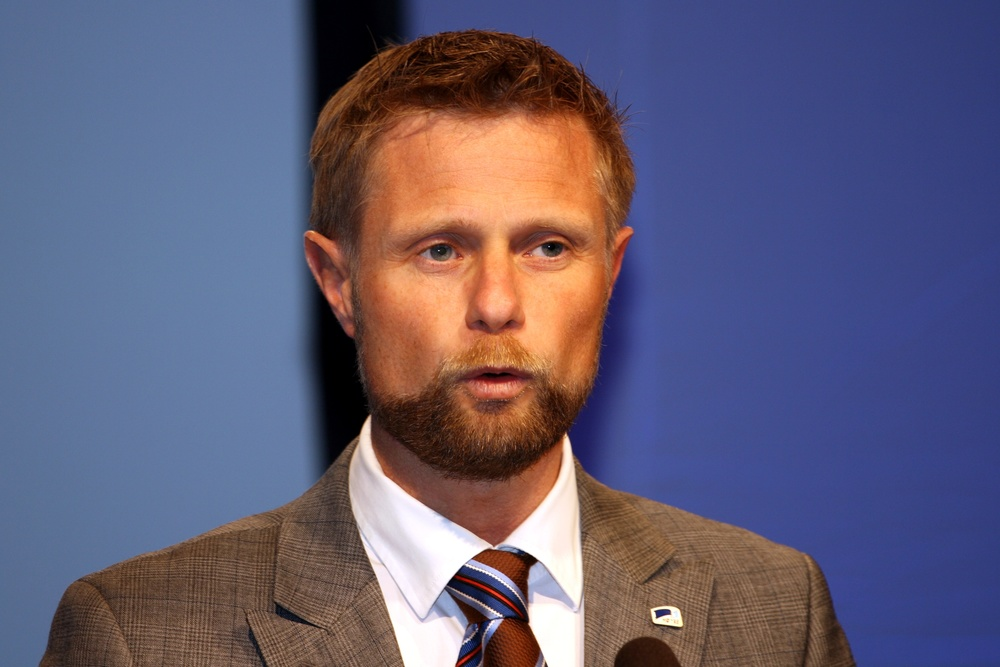 "Click photo to download. Caption: Norwegian Health Minister Bent Hoie, pictured here, last November announced that new legislation was in the pipeline to ""regulate ritual circumcision."" Also in Scandinavia, last week the major medical associations in Sweden and Denmark recommended a ban on ""non-medical""—i.e. religious—circumcision. Credit: Kjetil Ree via Wikimedia Commons."